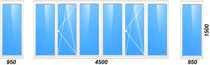 Остекление балконов в Томске цены
