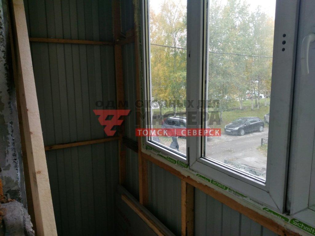 Утепление пенополистиролом на балкон