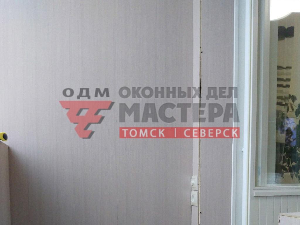 МДФ панели на балкон в Томске