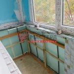 Отделка балкона под ключ в Томске