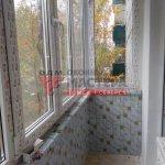 Внутренняя отделка балкона в Томске