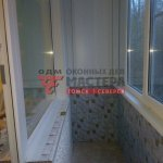 Остекление балкона под ключ в Томске