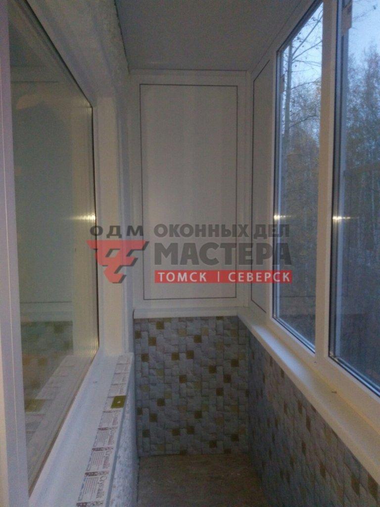 Окна ПВХ и отделка балкона под ключ