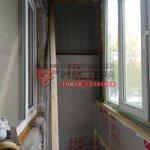 Монтаж утепления пенополистиролом на балкон в Томске