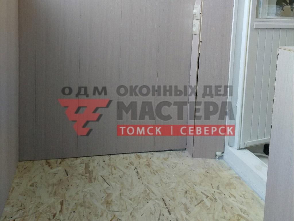 МДФ панели на балкон монтаж
