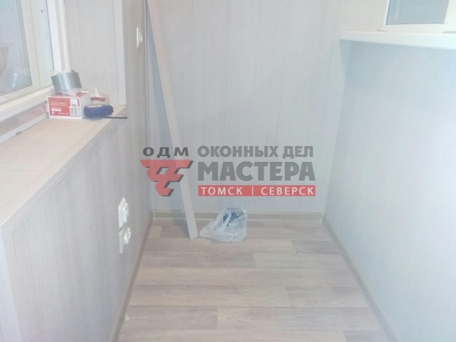 Отделка балкона в Томске