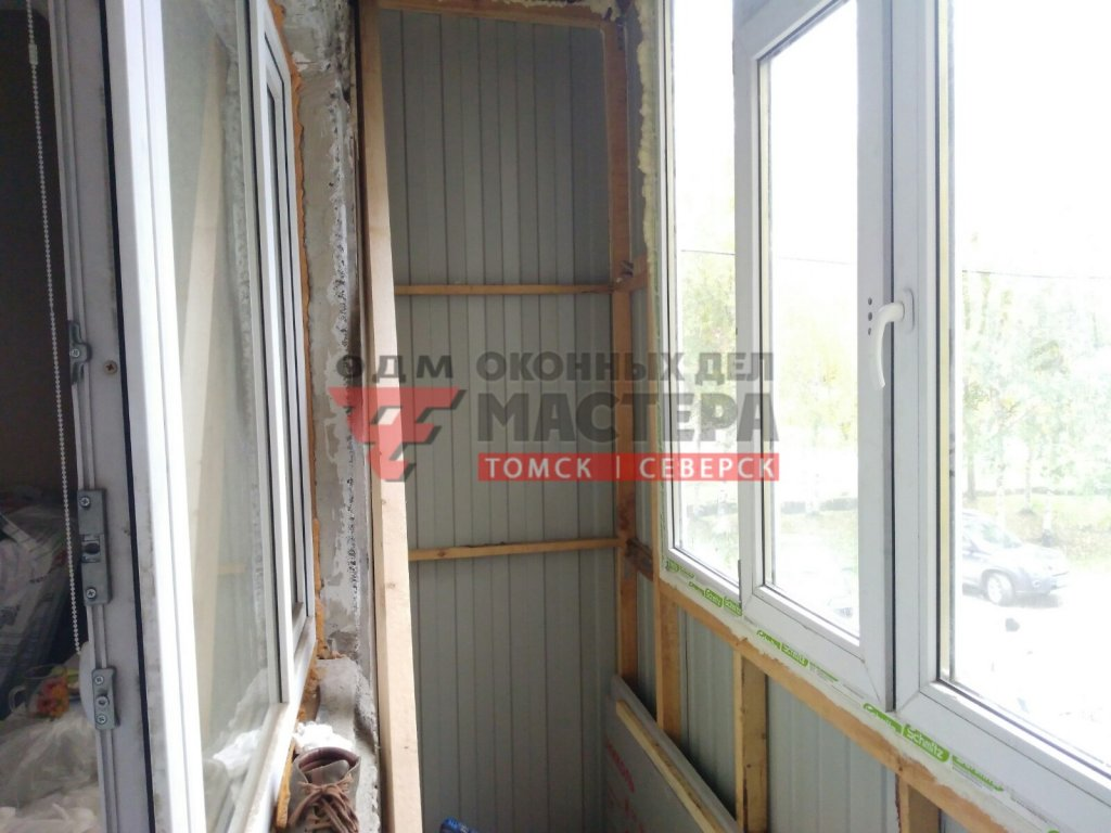 Утепление балкона в Томске