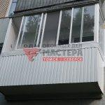 Холодное остекление балкона в Томске