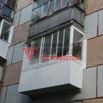 Холодное остекление балкона в Томске фото