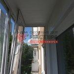 ПВХ остекление балкона в Томске