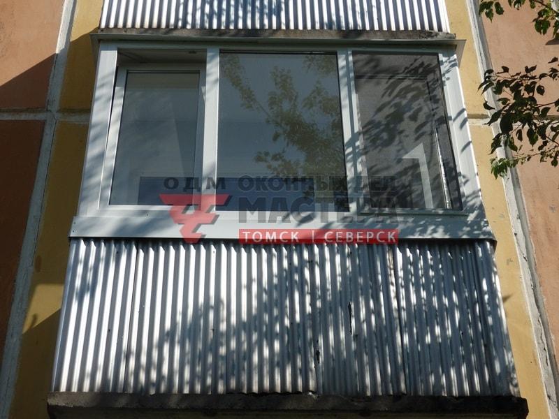 Остекление и отделка балконов в Томске