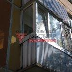 ПВХ остекление на балкон
