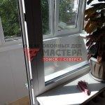 Теплое остекление балкона в Томске фото