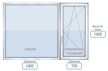 Цена пластиковое окно для панельного дома